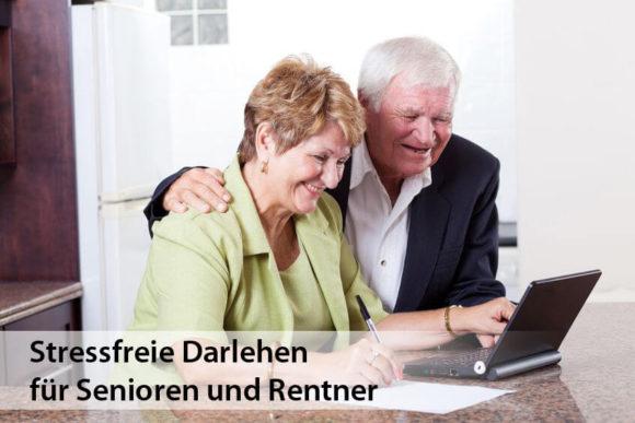 Seriöse und stressfreie Darlehen für Rentner und Senioren